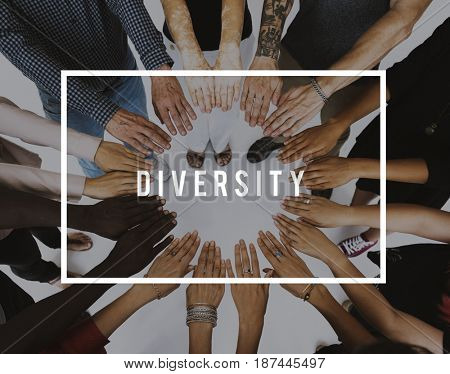 Diversity different ethnic integration society