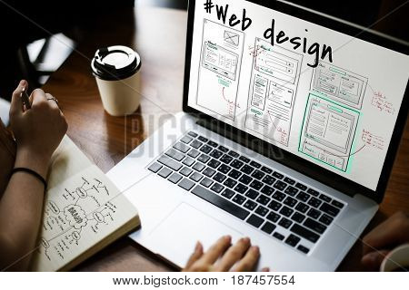 Web Design Layout Internet Template
