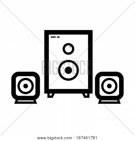 Thin Line Sound System Icon
