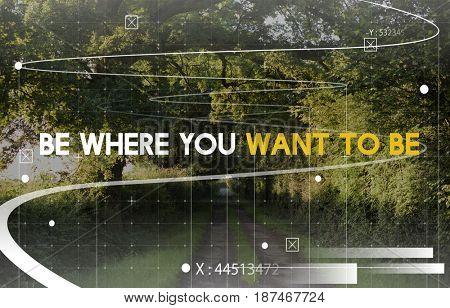 Nature Travel Journey Adventure Word Graphic
