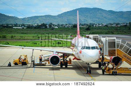 Lien Khuong Airport In Dalat, Vietnam