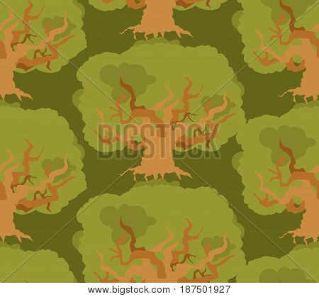 Oak Forest Seamless Pattern. Large Old Wood Texture