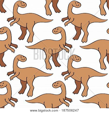 Funny Dinosaurs Pattern.eps