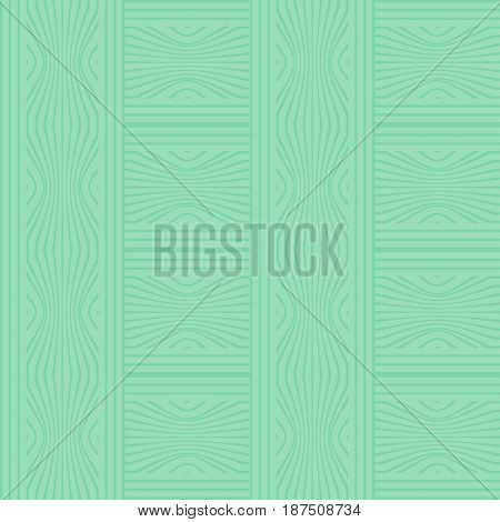 Monochrome tile in pea green design, seamless checkered low contrasting light background, vector EPS 10
