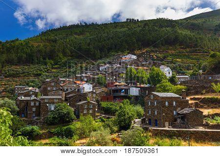 Village Piodao - Portugal - architecture background
