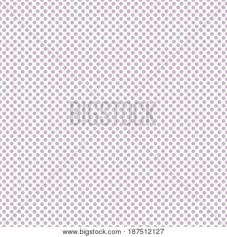 Polka dot seamless geometric pattern. Delicate fabric background.