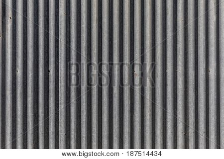 Texture background of metal corrugated sheet panel