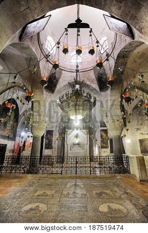 Church of the Holy Sepulchre the main Christian shrine in Jerusalem