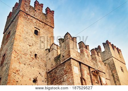 Towers Of Old Medieval Castle