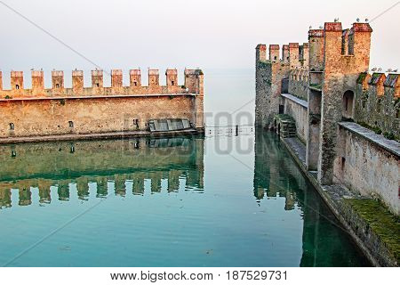 .lagoon In The Old Fortification