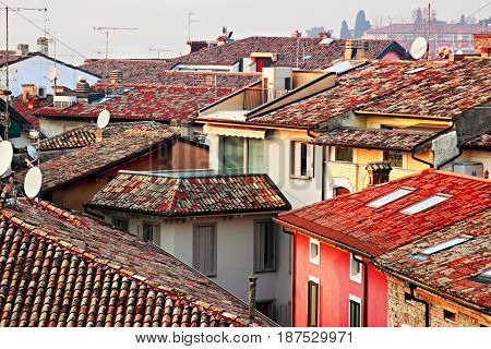 Roofs In The Old City