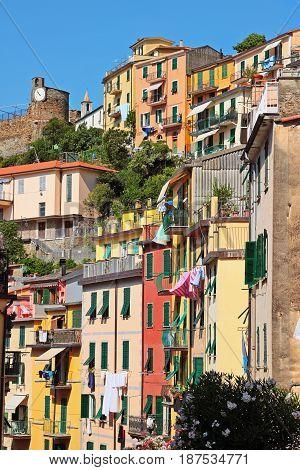 Buildings In Riomaggiore