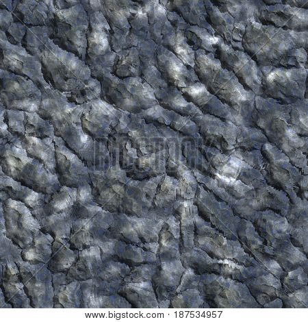 shallow surface background. Seamless pattern. Digital illustration.