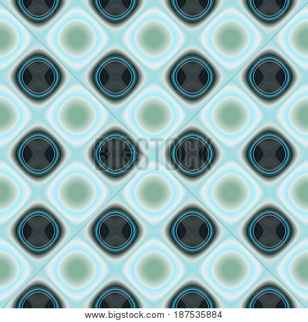 Abstract decorative geometric background. Seamless colorful pattern.