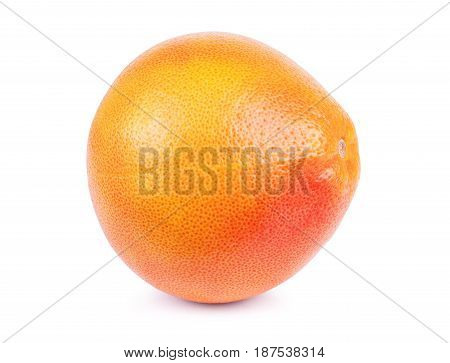 Grapefruit isolated on white background. With clipping path. Full depth of field.