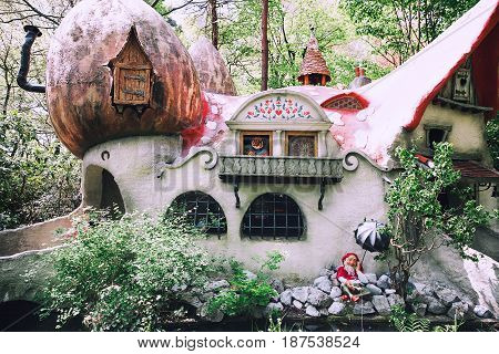 Fantasy Themed Park Efteling In Netherlands.