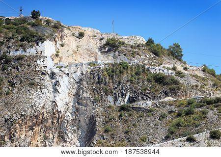 White Marble Open Mining