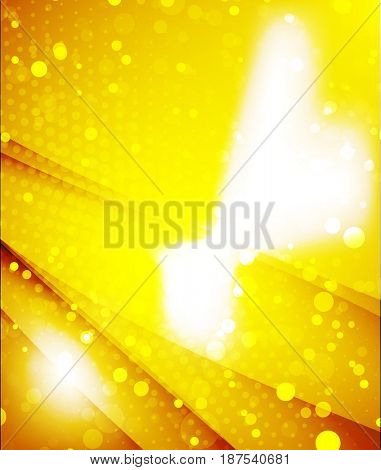 shiny glittering light abstract background