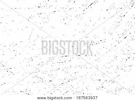 Particle noise dirty scratched modern halftone layout. Easy to create urban abstract dotted grunge vintage stain effect. Messy dark Dust overlay. Vector illustration