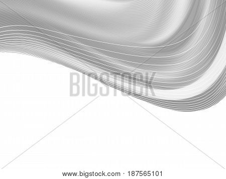 Vector wavy and curve line. EPS10 with transparency. Abstract composition with curve lines. Blurred lines with copy space. Place for text. Border lines