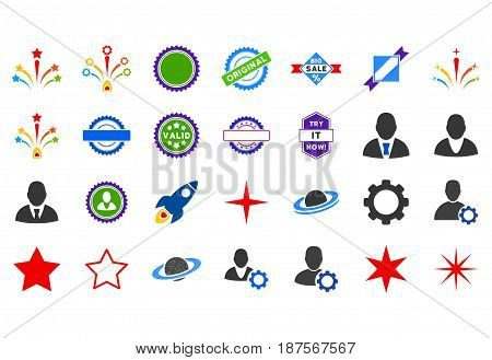 Popular flat vector pictograph collection. An isolated icons on a white background.