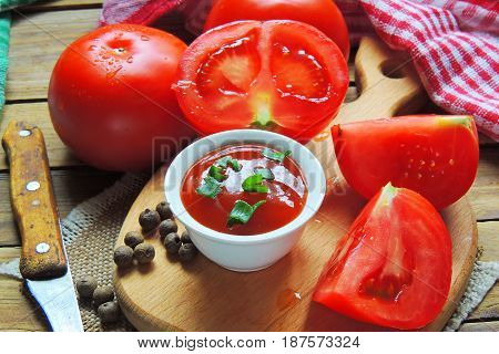 Tomato And Tomato Paste