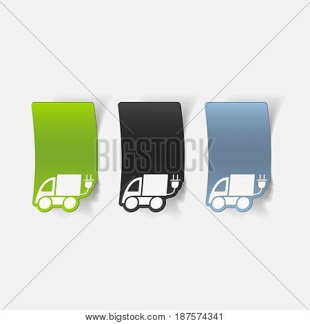 It is a realistic design element: eco car