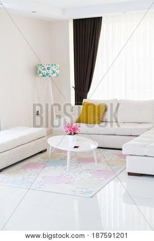 Modern living room apartment