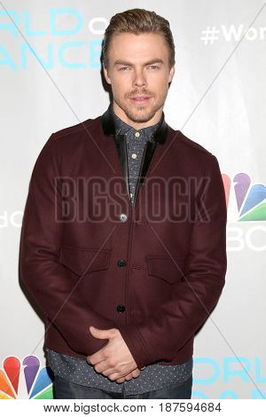 LOS ANGELES - JAN 25:  Derek Hough at the