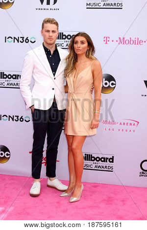 LAS VEGAS - MAY 21:  Cameron Fuller, Lauren Elizabeth at the 2017 Billboard Music Awards - Arrivals at the T-Mobile Arena on May 21, 2017 in Las Vegas, NV
