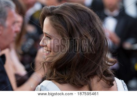 Lucie Lucas at the 120 Beats Per Minute (120 Battements Par Minute)  premiere for at the 70th Festival de Cannes.May 20, 2017 Cannes, France