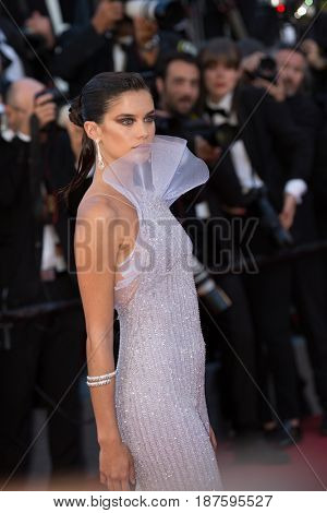 Sara Sampaio at the 120 Beats Per Minute (120 Battements Par Minute)  premiere for at the 70th Festival de Cannes.May 20, 2017 Cannes, France
