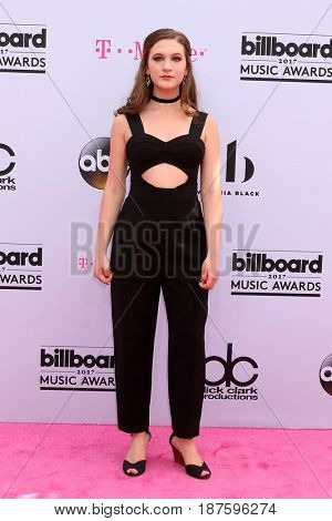 LAS VEGAS - MAY 21:  Whitney Woerz at the 2017 Billboard Music Awards - Arrivals at the T-Mobile Arena on May 21, 2017 in Las Vegas, NV