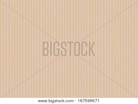 Cardboard background in relistic style. Vector illustration
