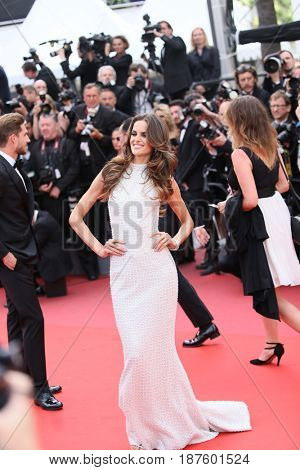 Izabel Goulart attends the 'The Killing Of A Sacred Deer' screening during the 70th Cannes Film Festival at Palais des Festivals on May 22, 2017 in Cannes, France.