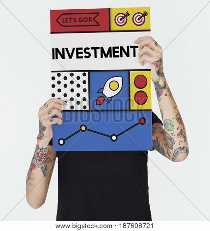 Investment Income Savings Money Budget Word