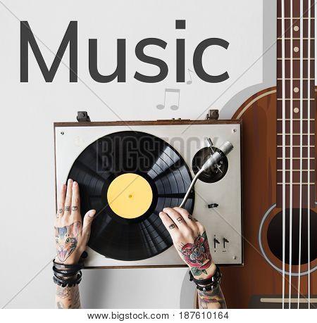 Music Creativity Art Hobby Concept