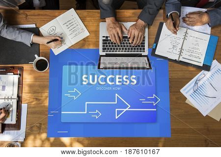Business Development Management Success Illustration