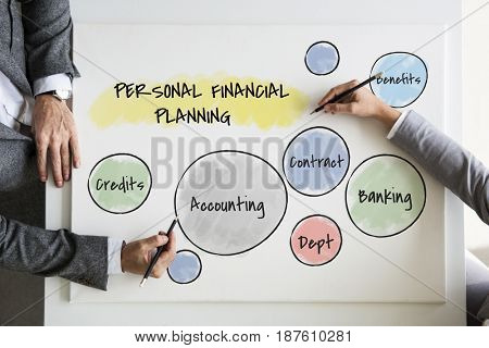 Business People Accounting Planning
