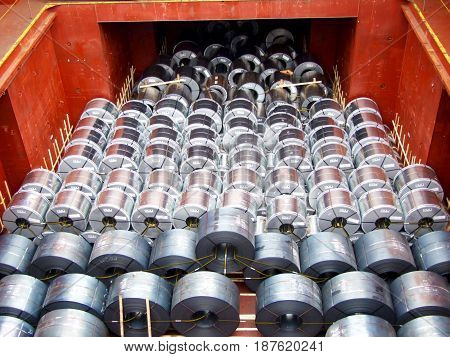 The steel coil for any material product