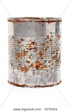 Rusty Metal Can
