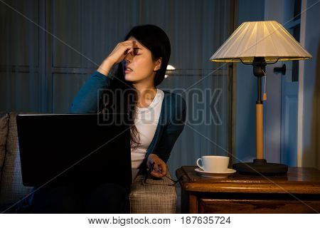Girl Having High Intraocular Pressure At Night
