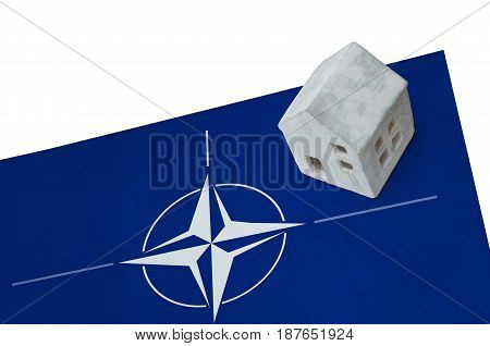Small House On A Flag - Nato