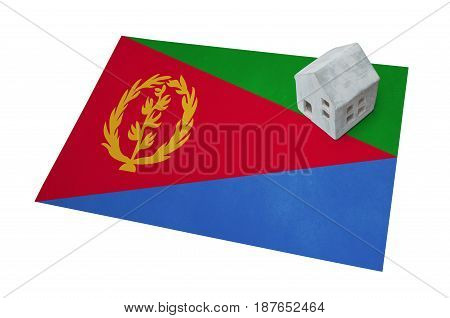 Small House On A Flag - Eritrea