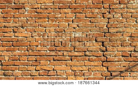 Wall texture from clay brick background. For computer graphics design