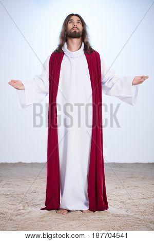 Jesus Christ Barefoot