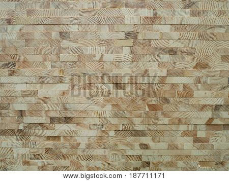 timber limber wood board industrial background golden stack wood texture background.