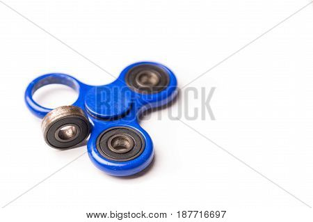 Dislodged Broken Weight From Fidget Spinner Dangerous To Kids