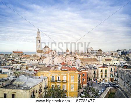 Old Town Of Bari, Puglia, Italy
