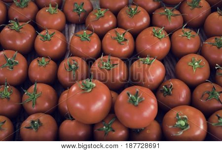 Fresh organic tomatoes product pattern
